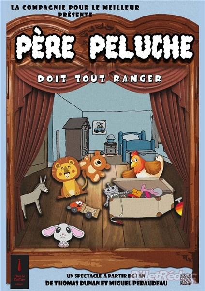 Père peluche - Spectacle 1- 3 ans - Le flibustier - Aix en provence