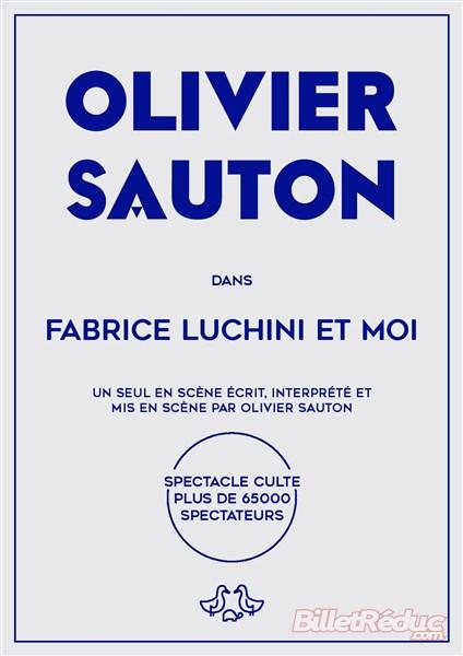 Fabrice Luchini et moi - Aix - Théâtre - Le Flibustier