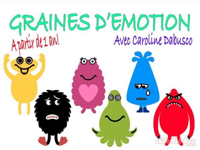 Graines d'emotions - spectacel enfant - 1-3 ans - Le Flibustier - Aix