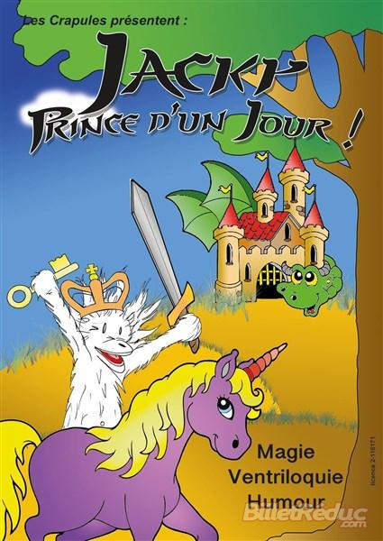 Jacky prince d'un jour - spectacle jeune public - Le flibustier - Aix