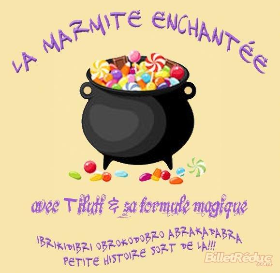 La marmite enchantée - Spectacle enfant - Théâtre Aix - Le Flibustier
