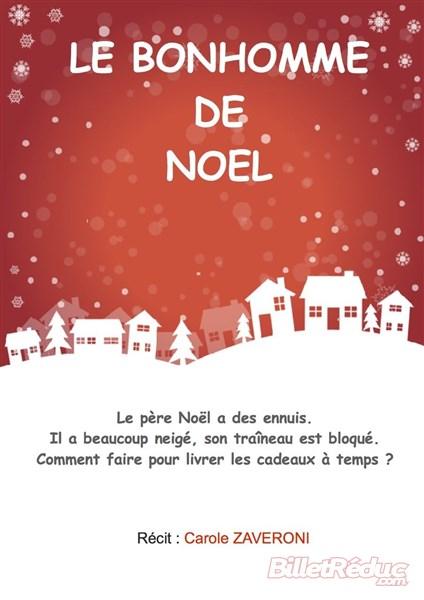 Le bonhomme de noel - Spectacle enfant - Théâtre Aix - Le Flibustier