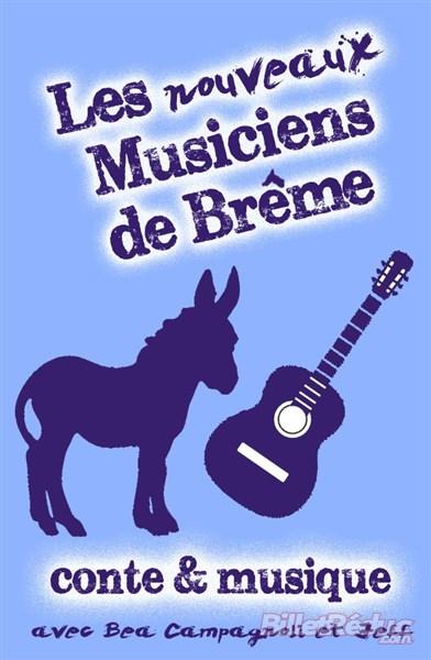 Les nouveaux musiciens de Brême - Spectacle enfant - Théâtre Aix - Le Flibustier