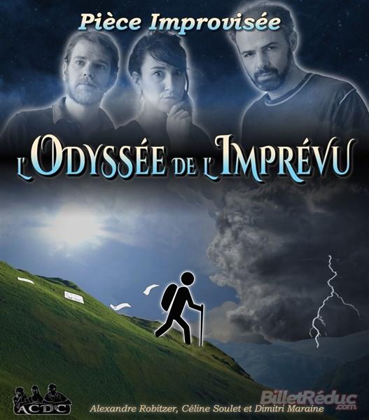 L'odyssé de l'imprevu - Impovisation - AIx - Le Flibustier