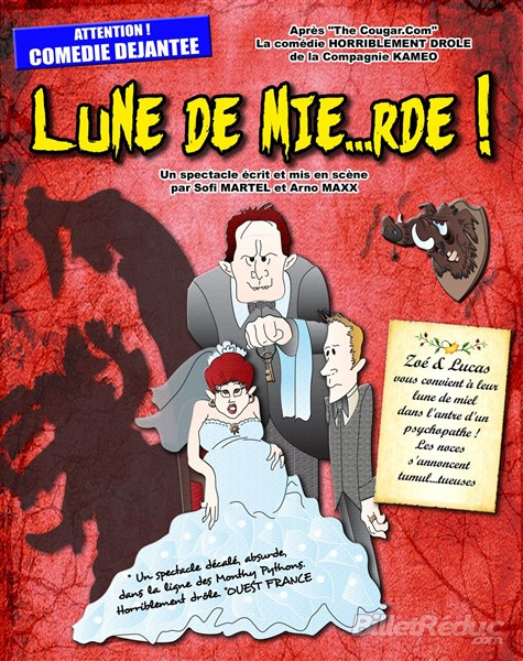 Lune de mierde - théâtre - comédie - Marseille - Aix - Le Flibustier