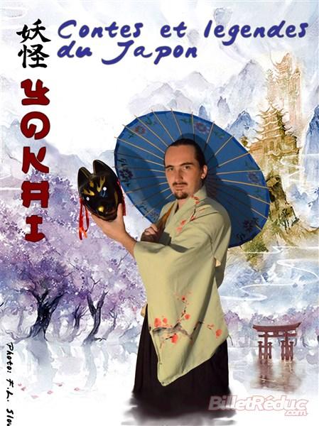 Yokaï contes et légendes du Japon - le Flibustier - Théâtre - Aix