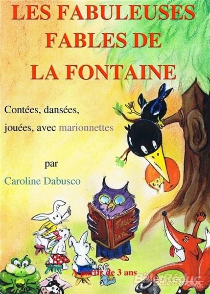 Les fabuleuses histoires de la fontaine - le flibustier - Aix en provence - spectacle enfant