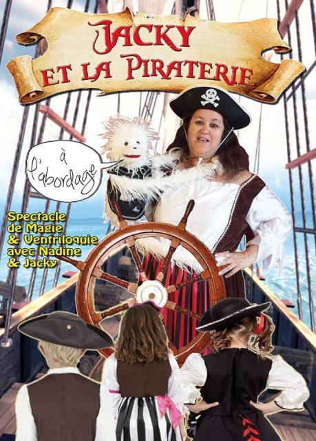 Jacky et la piraterie - Compagnie les crapules - Théâtre l'Art Dû - Marseille - 13006