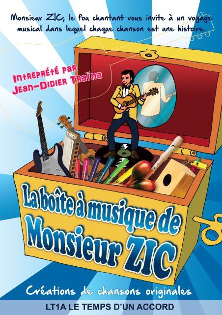 La Boite à musique de Monsieur Zic